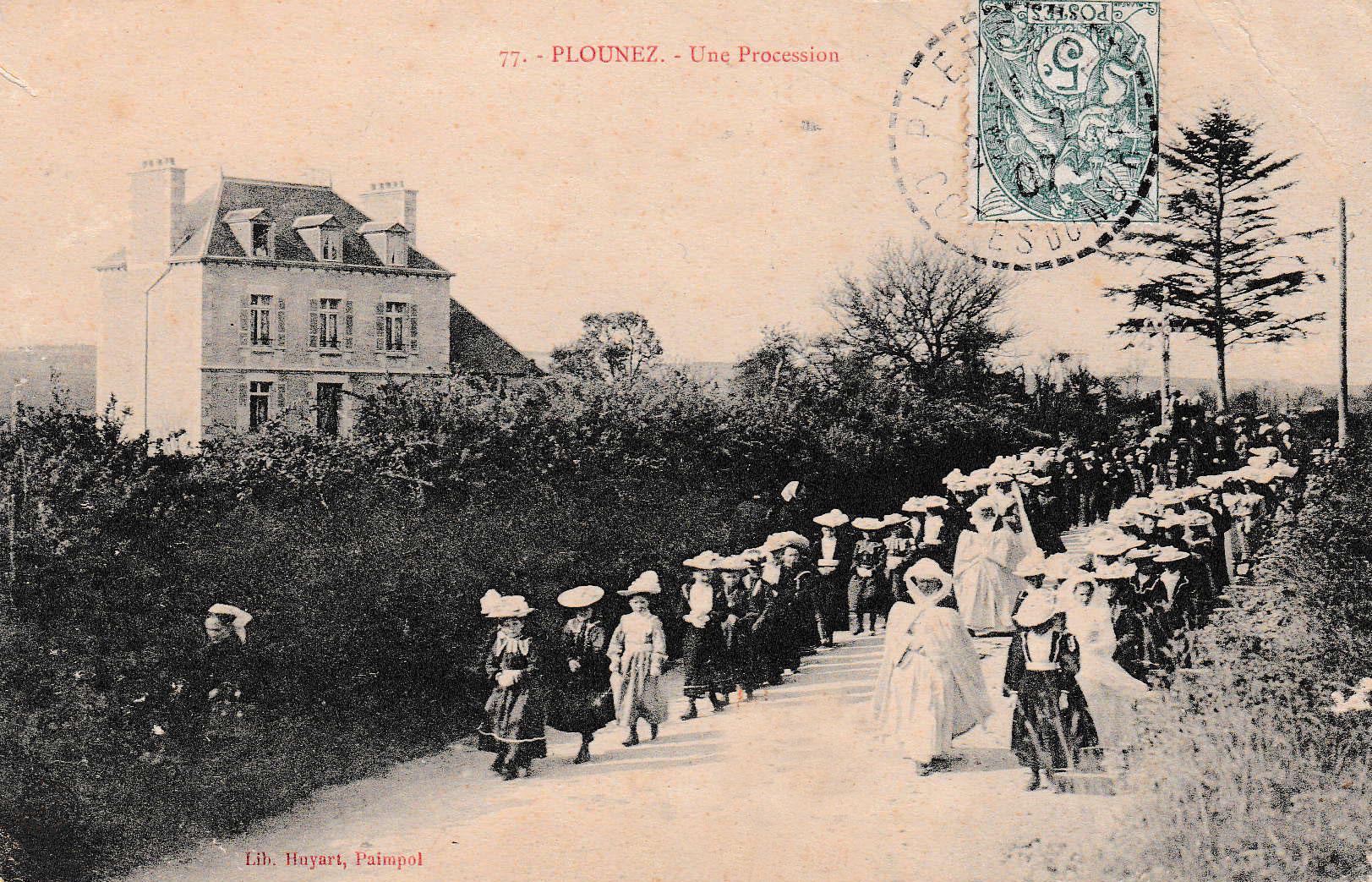 Kergiquel en 1907